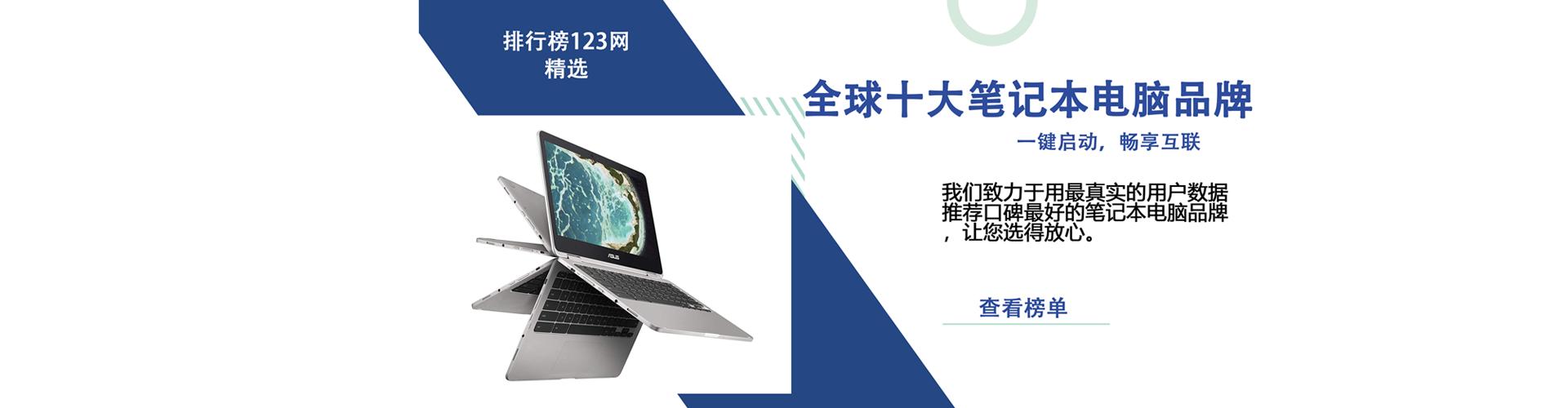 全球十大笔记本电脑品牌排行榜