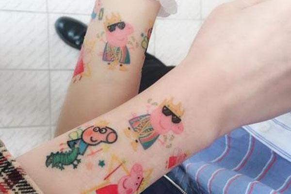 偶尔贴纹身贴的危害有哪些