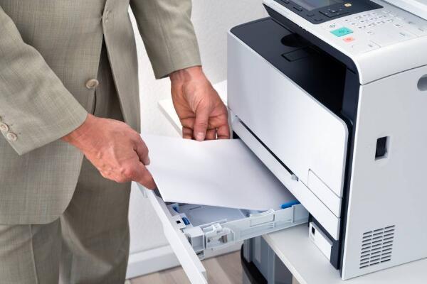 打印机进纸歪怎么处理