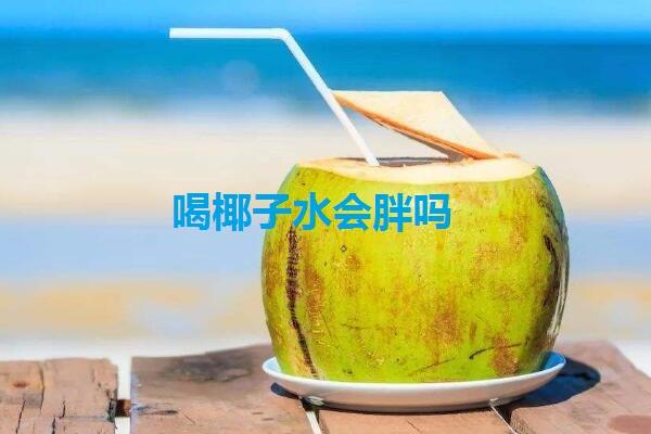 喝椰子水会胖吗
