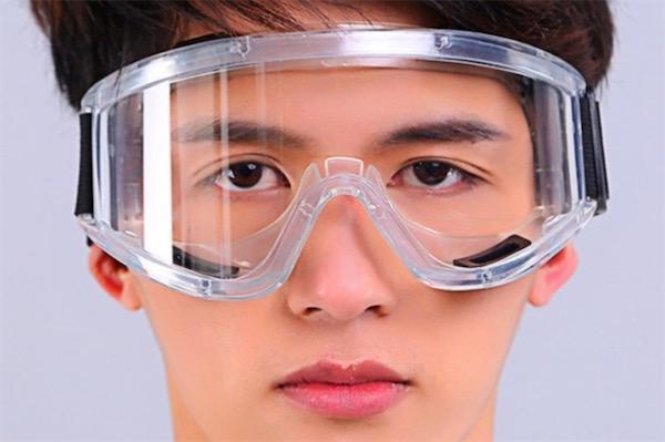 普通眼镜可以代替护目镜吗